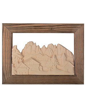 KD1315R - Scenery Sassolungo with frame