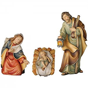 KD1550FA - Holy family of the peace nativity set