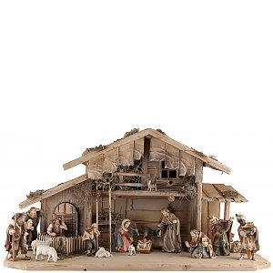 Nativity sets with Crib Stables - Salcher